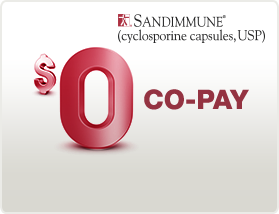 SANDIMMUNE Prescription Savings Card