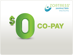 ZORTRESS Prescription Savings Card