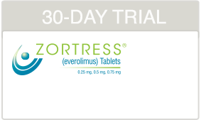 ZORTRESS Trial Voucher